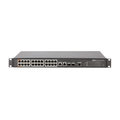 [PFS4226-24ET-240] 24-Port PoE Switch 240W (Managed)