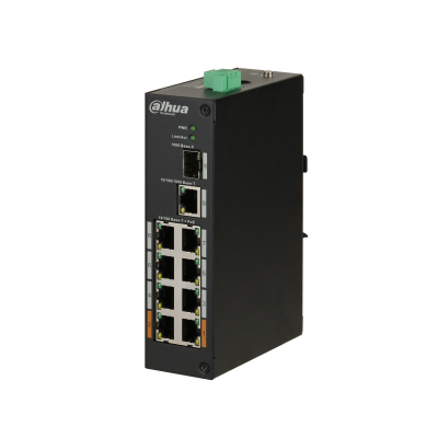 [DH-PFS3110-8ET-96] 8-Port PoE Switch 96W (Unmanaged)