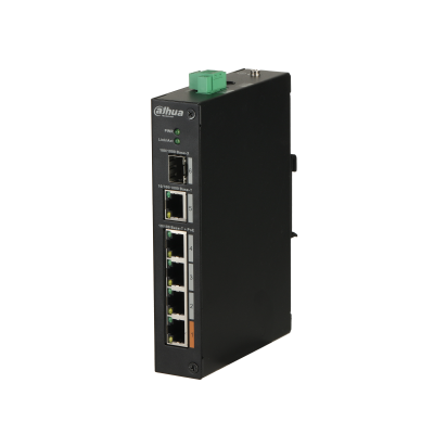 [PFS3106-4ET-60] 4-Port PoE Switch 60W (Unmanaged)